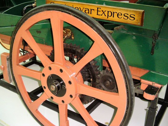 Detail of the Craigievar Express
