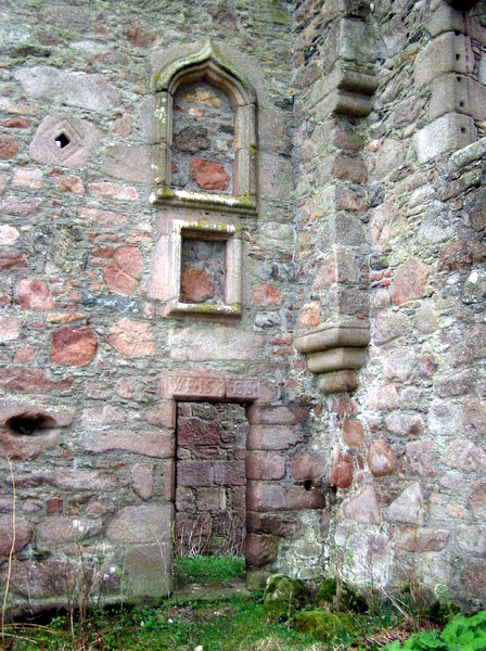 Details of the Doorway at Corse Castle