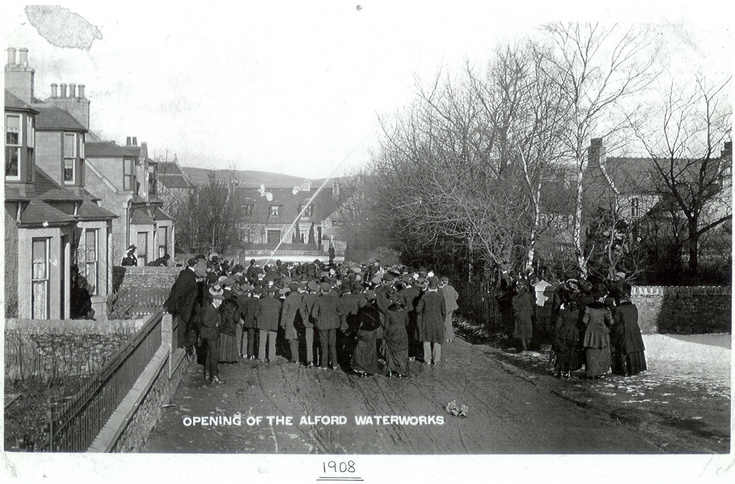 The Opening of the Alford Waterworks.