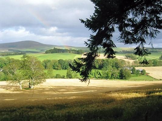 Countryside near to Craigievar Mill