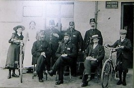 Postie Lawson at Whitehouse Post Office