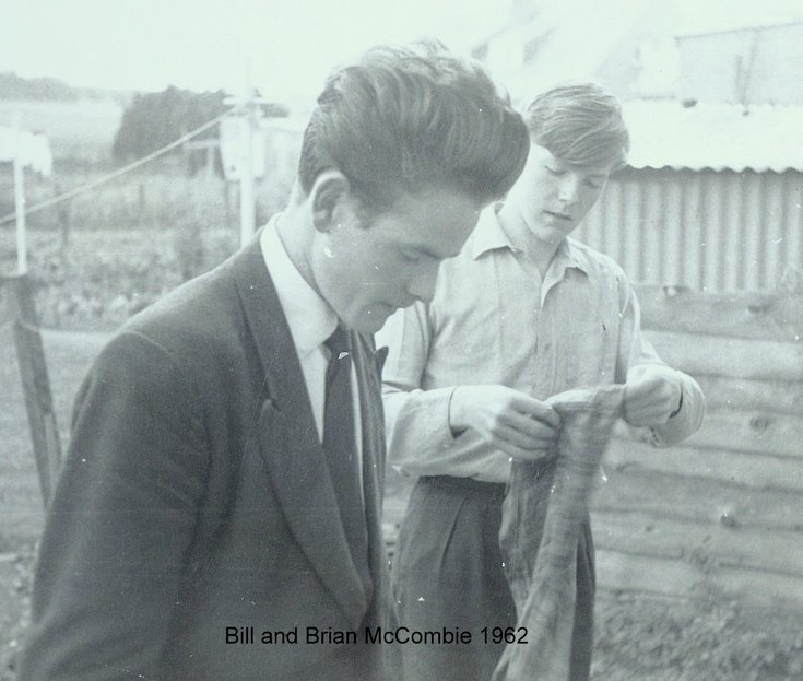 Bill and Brian McCombie