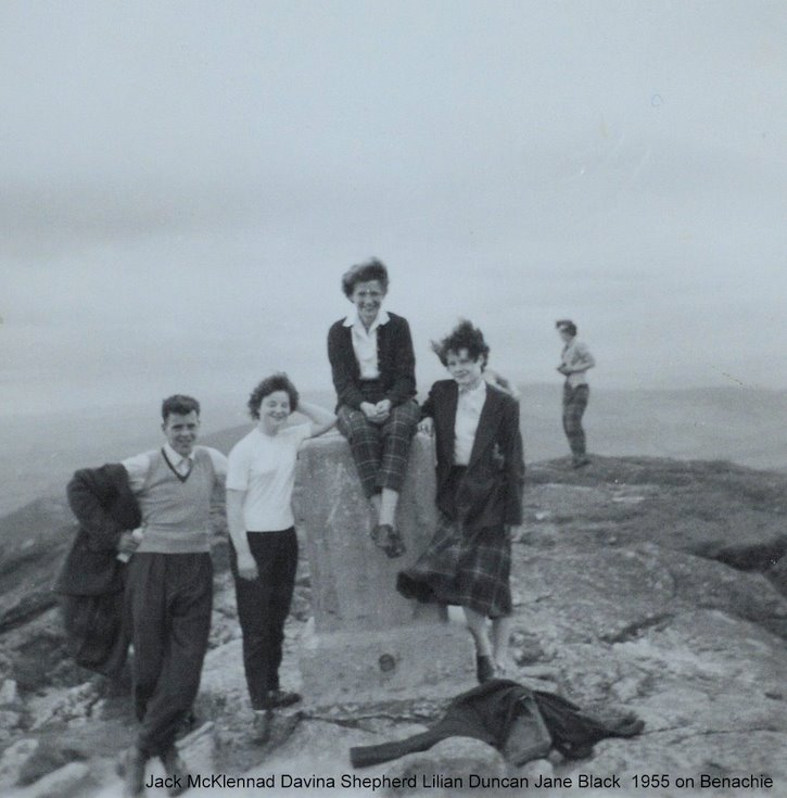 Alford Friends on Bennachie