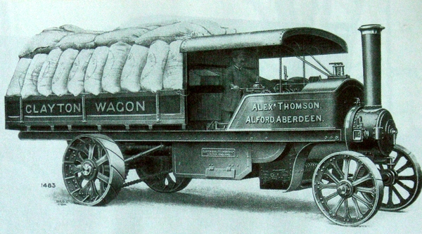 Clayton Steam Lorry