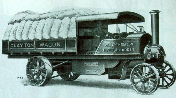 Clayton Steam Lorry