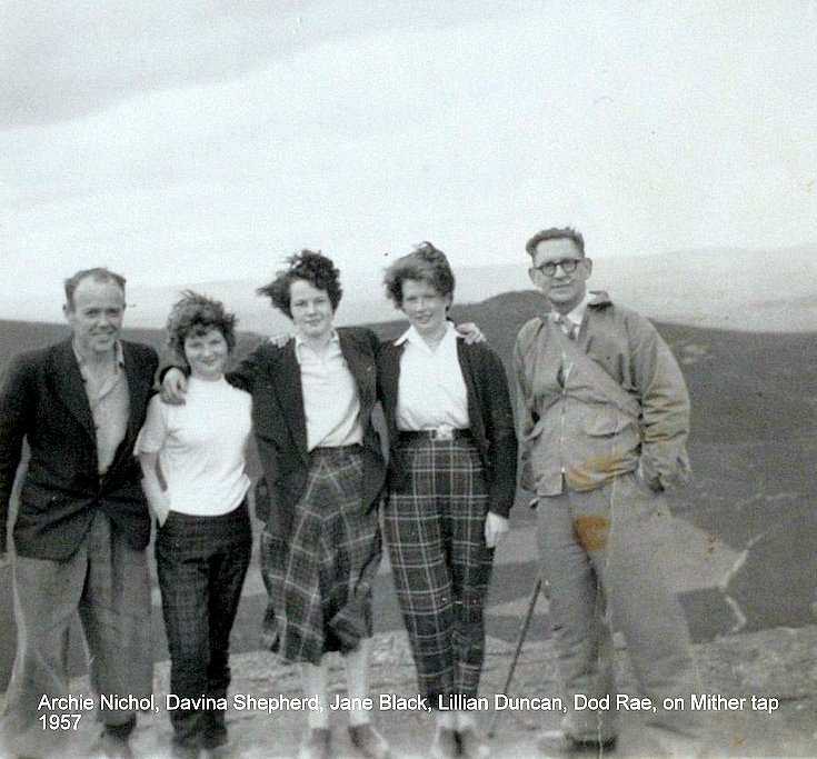 Friends on Bennachie
