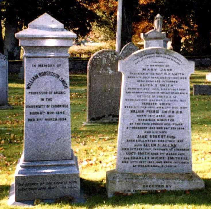 Smith Tombstones at Keig Parish Kirk