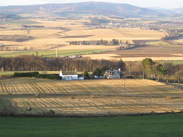 Alford from above Prospect Hill, Whitehouse