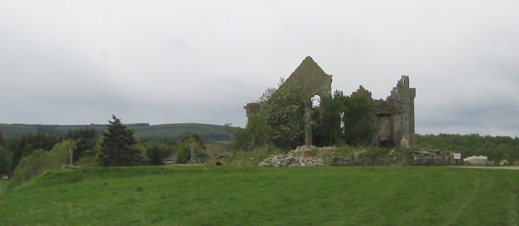 Ruins of Tonley House, Tough