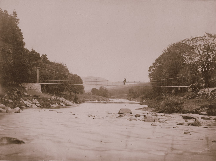 Craigpot Suspension Bridge, Keig
