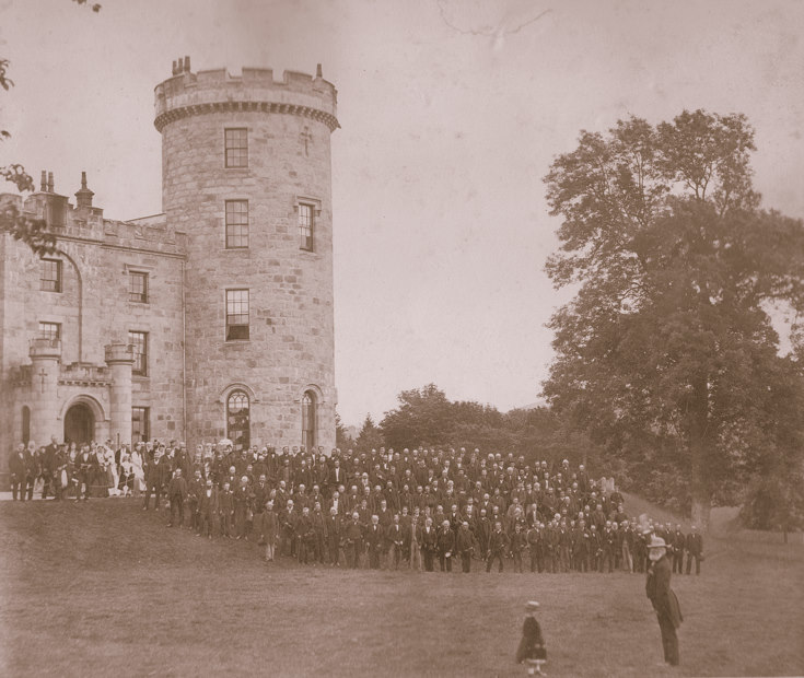 Estate Tenants and Family at Castle Forbes