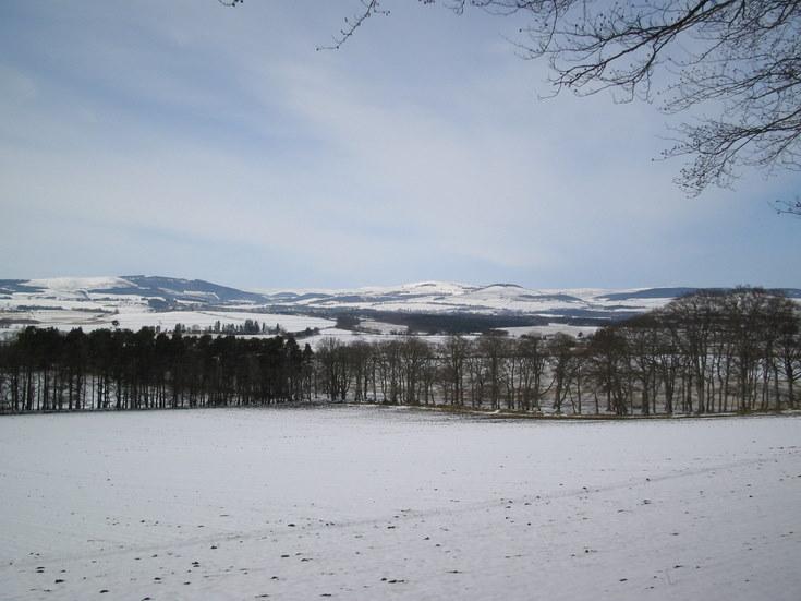 Howe of Alford in winter