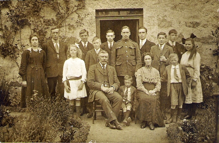 The McDonald Family at Cairnmhor, Alford