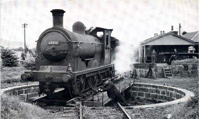 Alford Good Engine on Turntable at Alford
