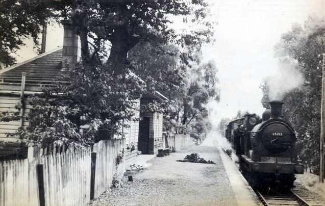 Alford Goods Train at Monymusk