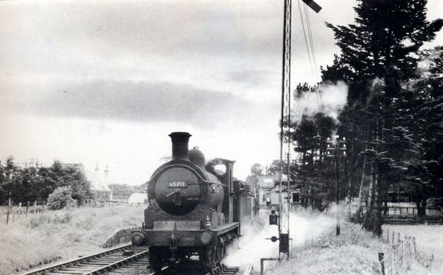 Alford Goods Train at Kemnay