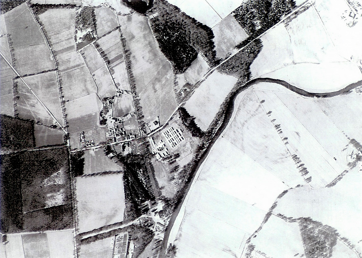 Aerial view of Monymusk