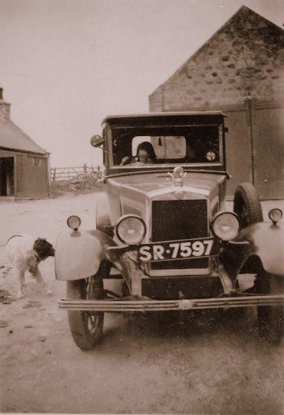 Alford District Recorder's Car
