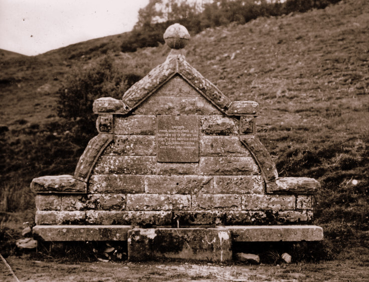 Monument in the Cabrach