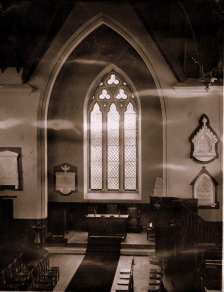 Chancel at Strathdon Kirk