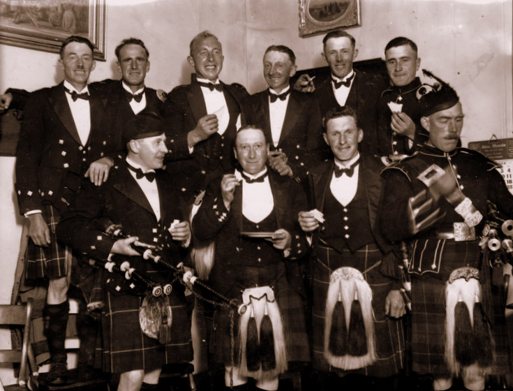 The Lonach Pipe Band