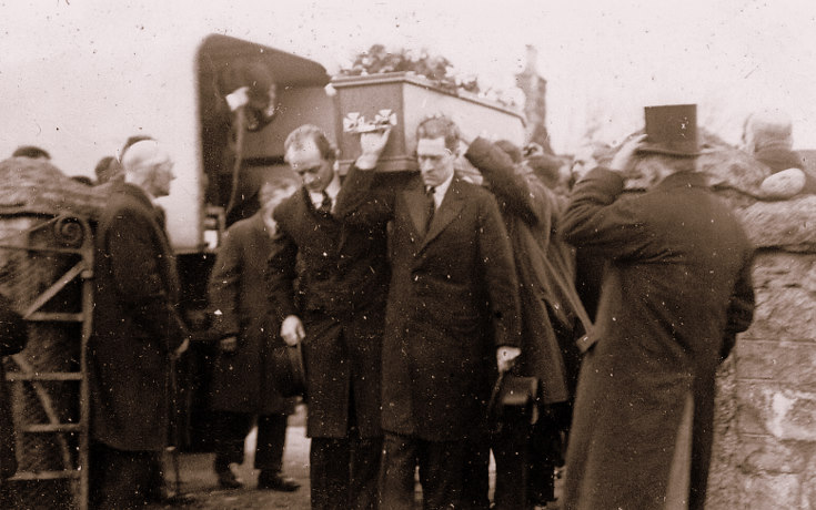 The Funeral of Rt Hon J.H.Tennant, Edinglassie