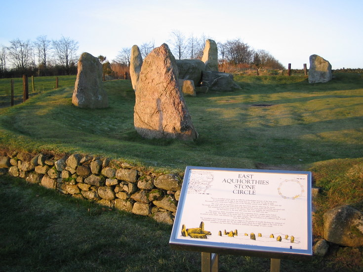 East Aquhorthies Stone Circle