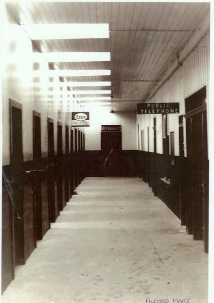 Inside the old Mart