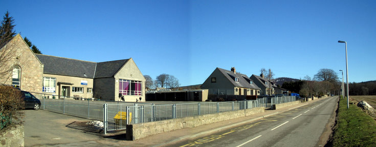 Keig School, Community Hall and Village