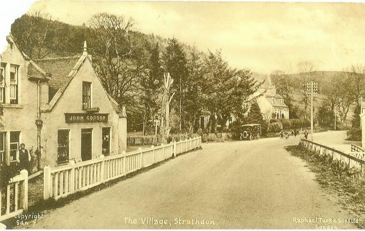 Strathdon village