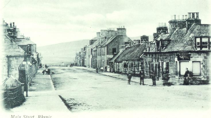 Main Street Rhynie