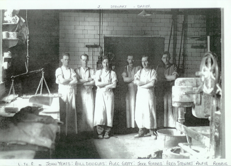 Staff of Stewart's Bakery