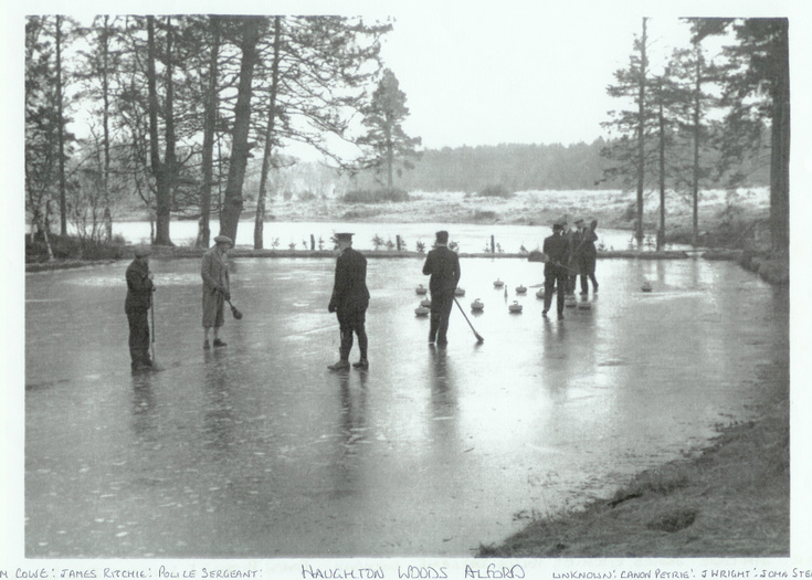Curling at Haughton Woods, Alford
