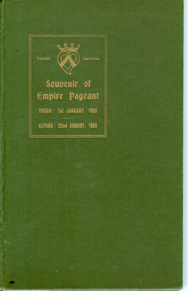 Souvenir of Empire Pageant frontcover