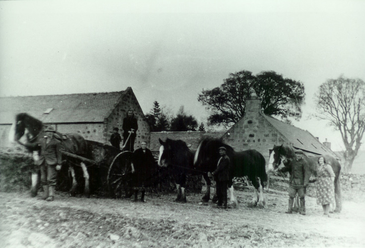 Unknown steading near Alford