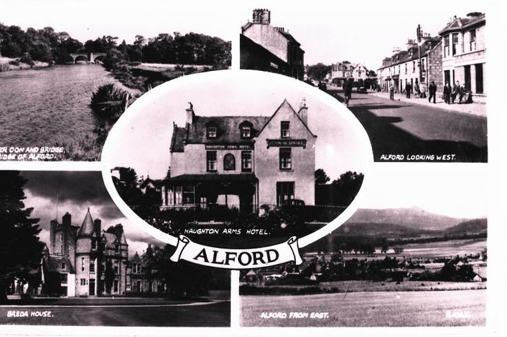 Alford postcard