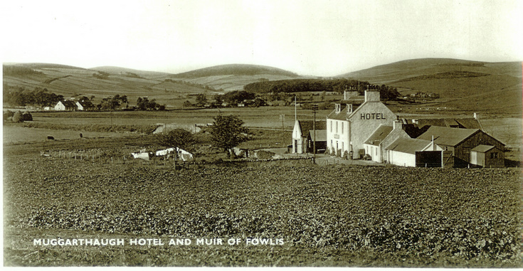 The Muggarthaugh Hotel at Muir of Fowlis