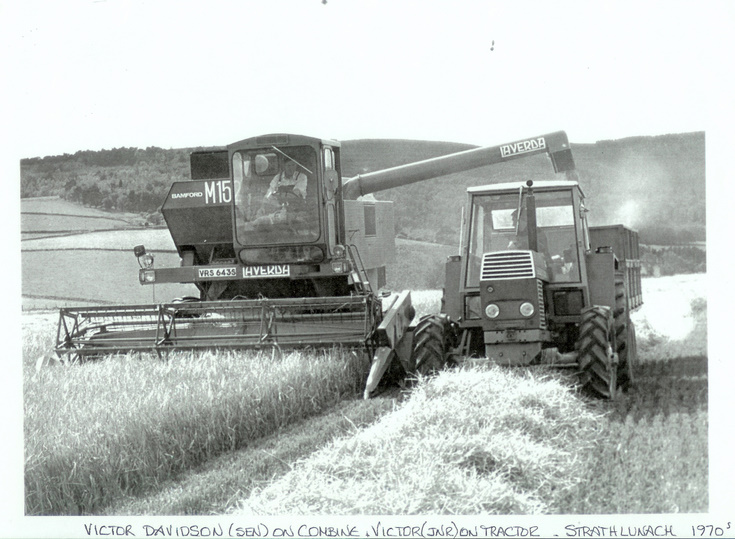 Combining at Strathlunach