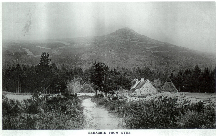 Oxencraig on Bennachie from Oyne