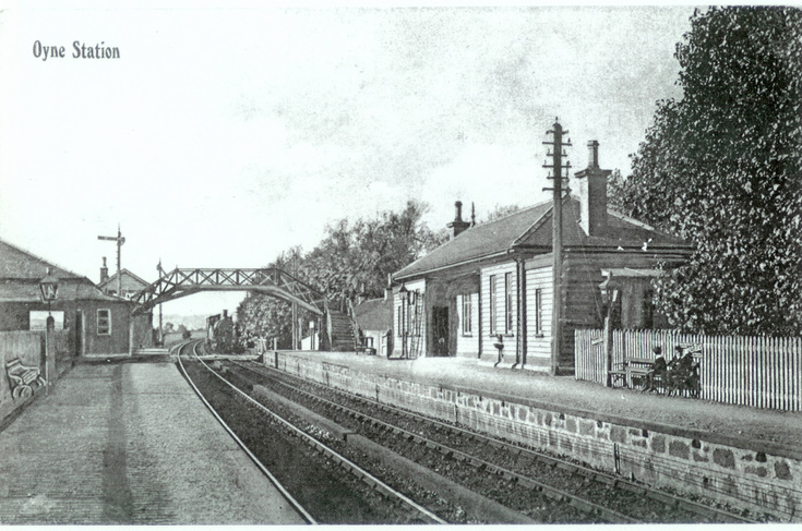 Oyne Station