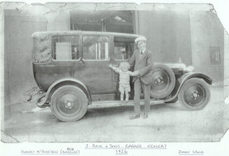 J Pirie & Sons, Garage, Kemnay
