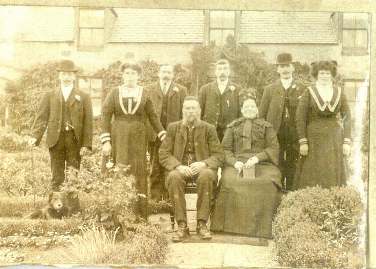 Ellis Family at Wark Farm, Cushnie