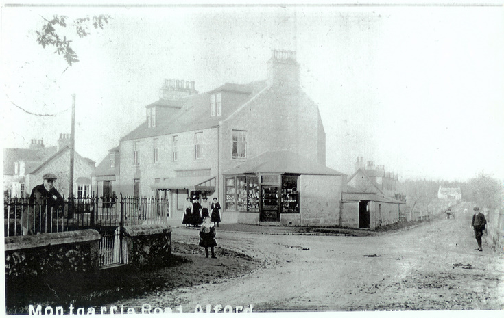 Corner Shop, Montgarrie Road, Alford