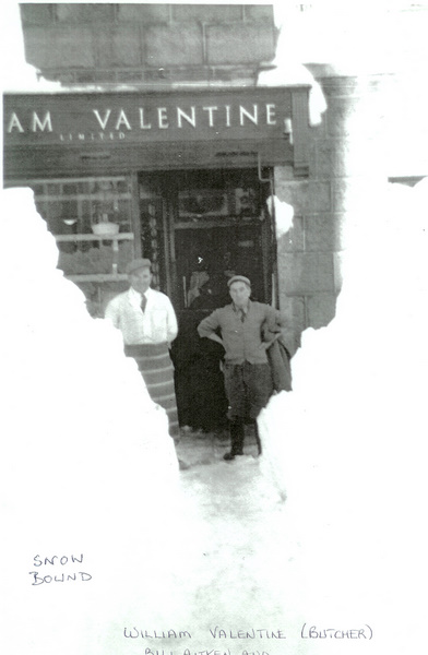 William Valentine, Butcher, Alford