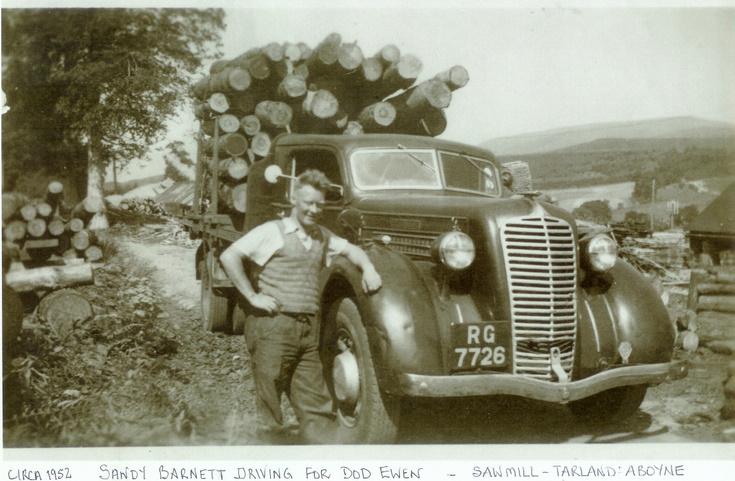 Sawmill at Tarland