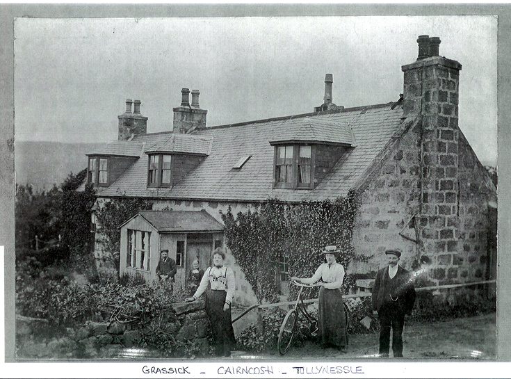 The Grassick Family at Cairncosh, Tullynessle