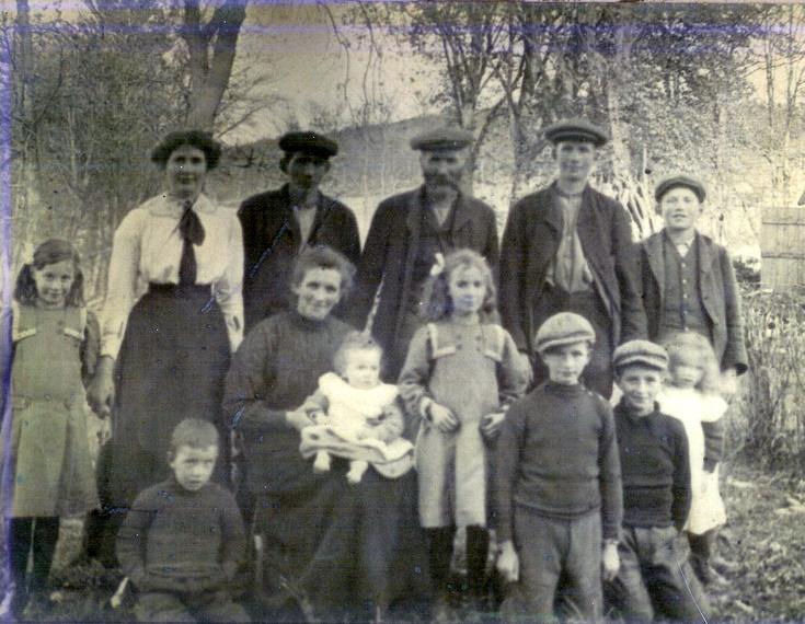 Emslie Family, Newfarm, Keig