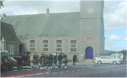 Torphins Pipe Band preparing for Gala Day