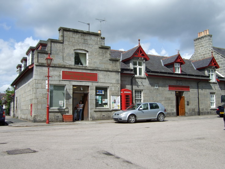 Monymusk PO and shop