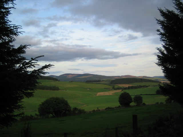 View from Knockhill